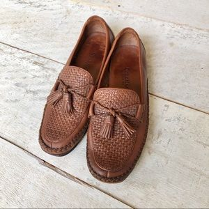 COLE HAAN Country Classic tasseled loafers | 8 1/2